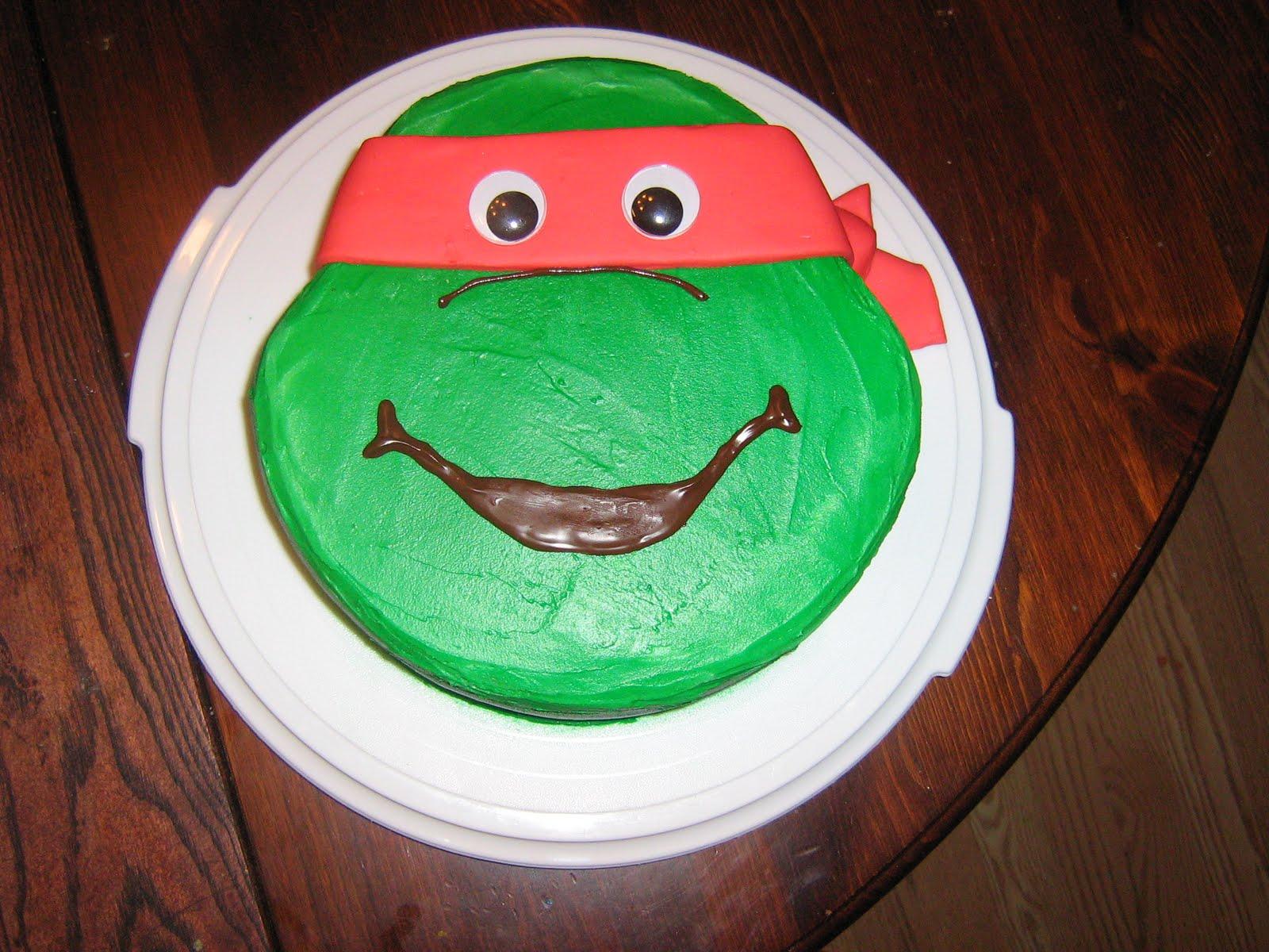 teenage mutant ninja turtles cake pan