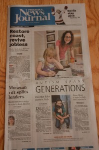 Our previous article on the front page of the Pensacola News Journal.