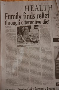 Our most recent article featured in the Health section of the Navarre Press!